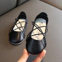 Księżniczka dziewczyny buty dzieci w wieku szkolnym dzieci sukienki buty dla dziewczynek szpilki skóra malucha 1 2 3 4 5 6 7 8 9 10 11 12 lat w Skórzane buty od Matka i dzieci na