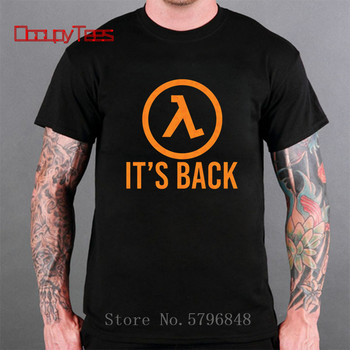 Half Life Game T Shirt Half Life 3 I Want To Believe T-Shirt 100 Percent Cotton Cute Tee Shirt Basic XXX Short Sleeve Man Tshirt 1