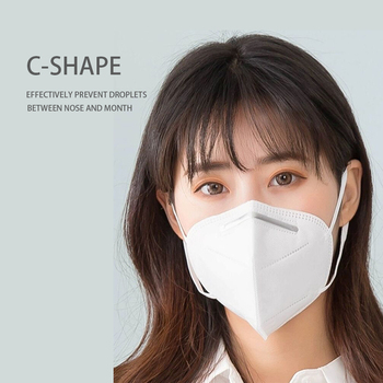 5 pcs/bag KN95 Face Mask PM2.5 Anti-fog Strong Protective Mouth Mask Respirator Reusable (not for medical use) Computers, Tablets & Networking