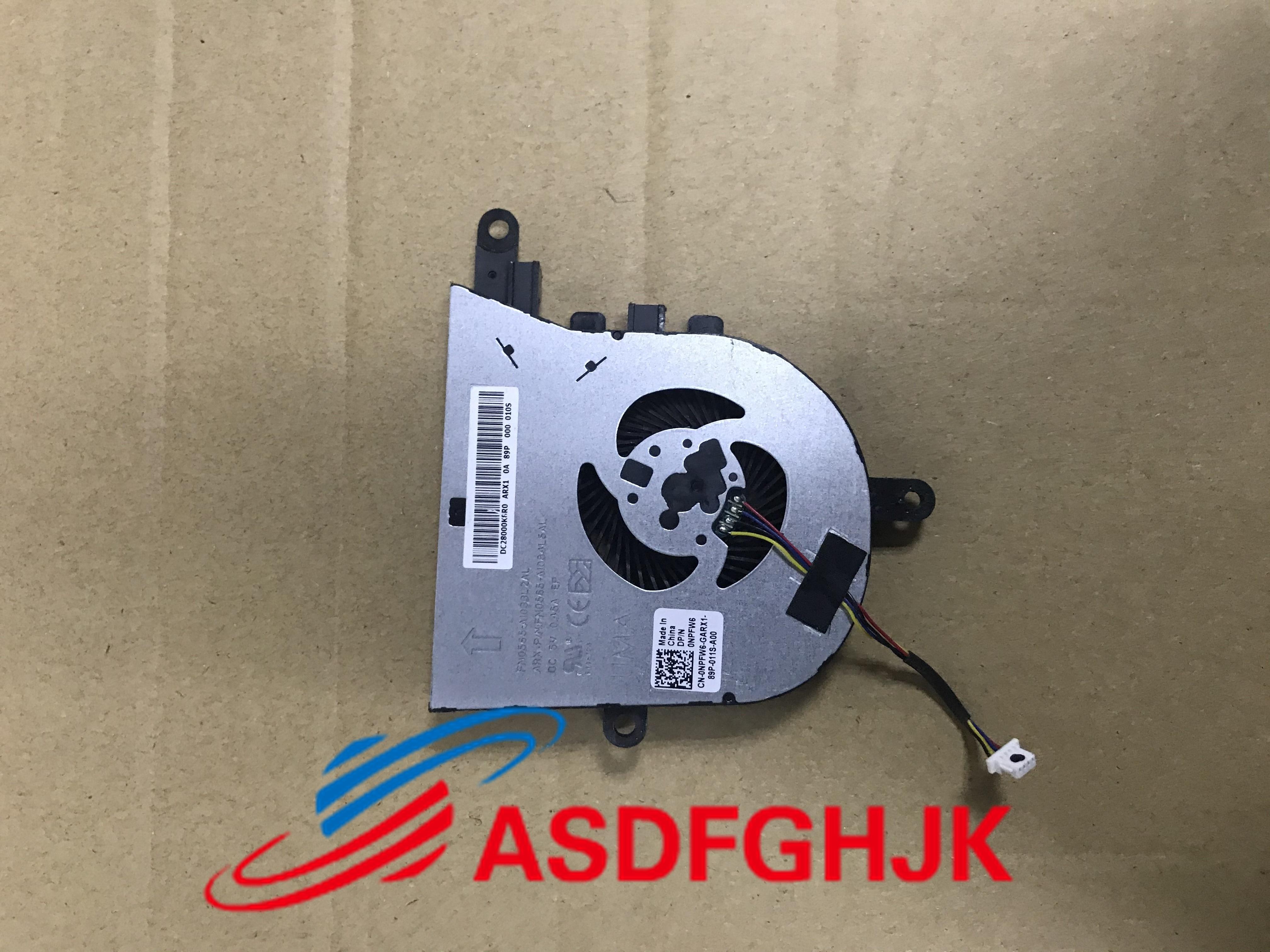Ventilador original para dell latitude 3590 inspiron 15 (5570) ventilador npfw6 0npfw6 CN-0NPFW6 100% tesed ok