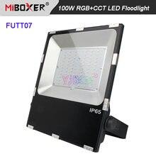Miboxer 100 Вт rgb + cct Светодиодный прожектор светильник futt07