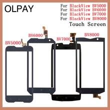 Écran tactile de téléphone portable pour Blackview BV5000 BV6000 BV8000 capteur de numériseur écran tactile de remplacement de panneau HD
