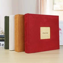 Holds 200 Photos Slip 6 inch Memo Photo Album Family Memory Notebook Picture Albums for Kids