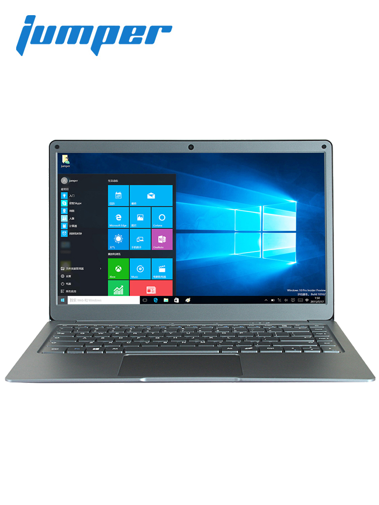 Jumper EZbook X3 notebook 13.3 inch IPS display laptop Intel Apollo Lake N3350 6GB 64GB eMMC 2.4G/5G WiFi with M.2 SATA SSD slot image