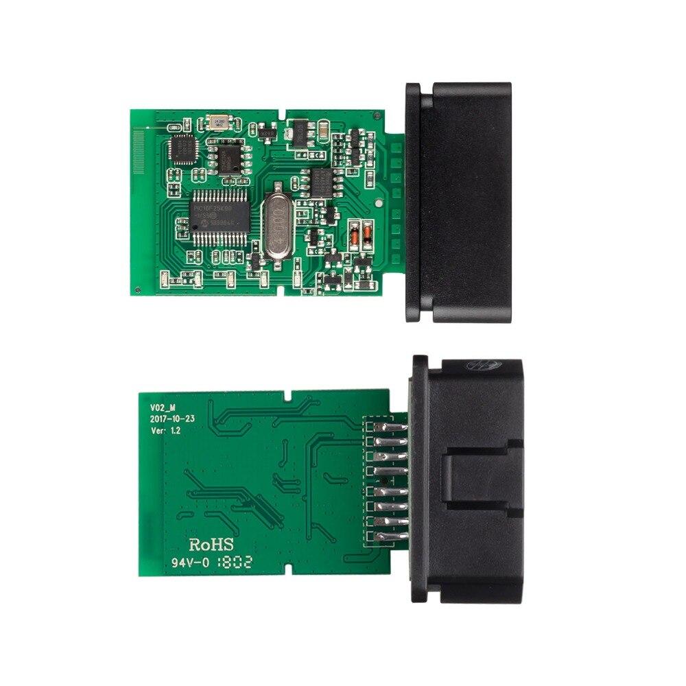 H3cad6cdc2f7c4318860989c5542ee5ebf OBD2 ELM327 V1.5 Bluetooth/WIFI Car Diagnostic Tool ELM 327 OBD Code Reader Chip PIC18F25K80 Work Android/IOS/Windows 12V Car