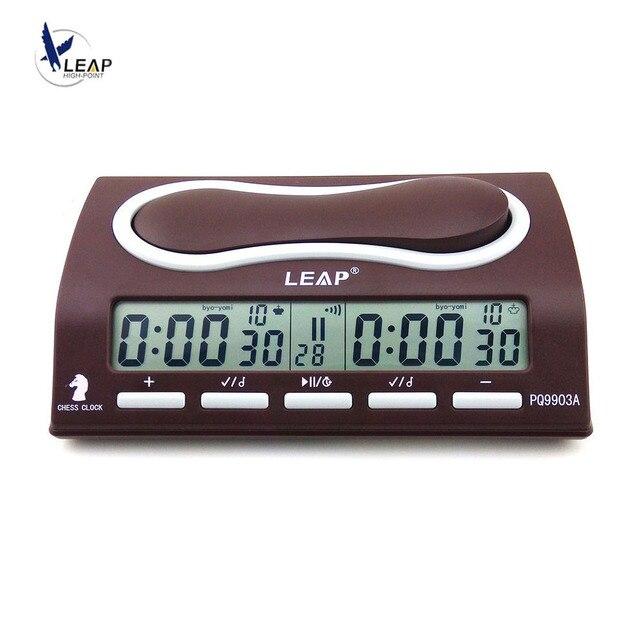 Horloge d'échecs électronique professionnelle, horloge numérique, horloge à compte à rebours, horloge de sport, Bonus de compétition, PQ9903 1