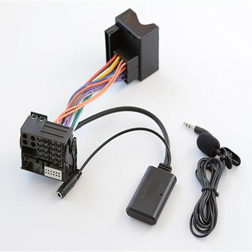 NOVO Bluetooth 5.0 Música Adaptador De Áudio MICROFONE Para BMW E64 E60 E66 E80 E81 E82 E90
