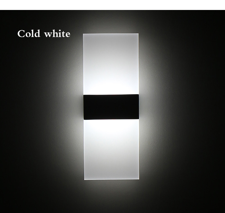 H3cae7bdea6c34c5fa463683ad54c60dfi - Mini 3/6/12/18W Led Acrylic Wall Lamp AC85-265V 14CM/22CM Long warm white Bedding Room Living Room Indoor wall lamp
