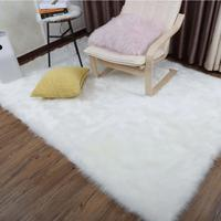 Luxury Fluffy Rugs Bedroom Furry Carpet Bedside Sheepskin Area Rugs Children Play Princess Room Decor Rug 2.3ft X 5ft