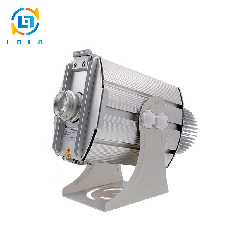 Funcitonal Factory Professional Large 40W LED Multi-image Logo Light Projector Powerful 4500lm 4 Images Change in Turn Projector