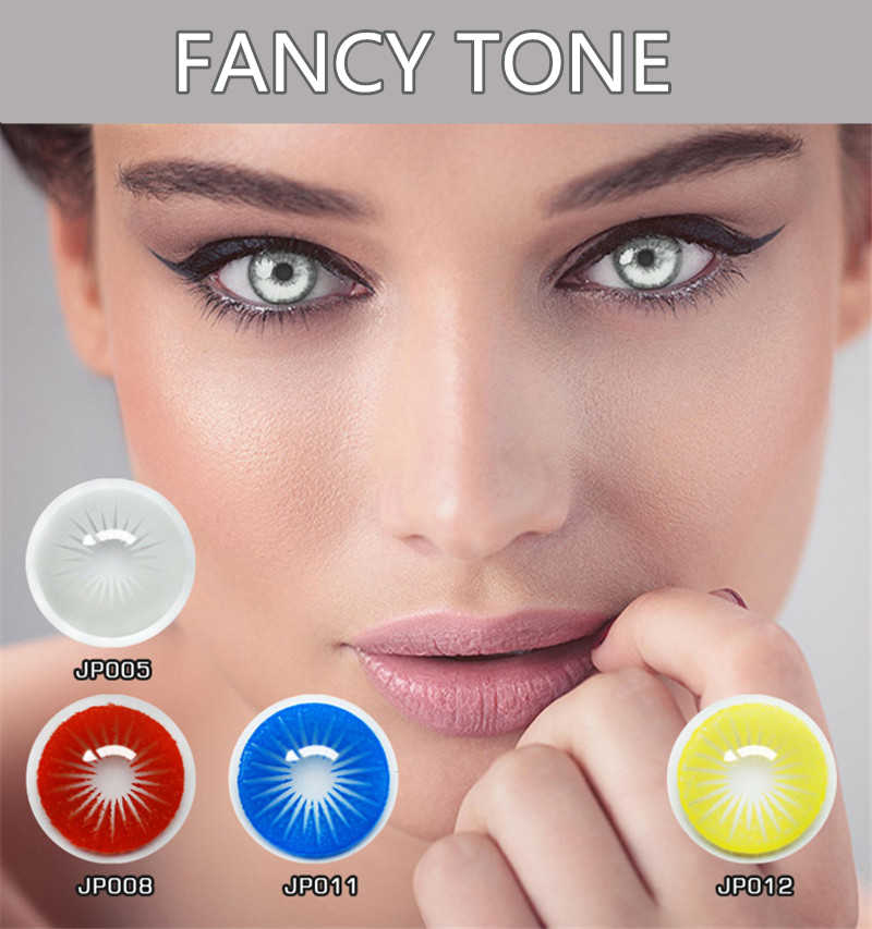 1 para (2 szt.) promieniowanie halloweenowe kontakty szalone soczewki kontaktowe do cosplayowych kontaktów kosmetycznych soczewki kolorowe soczewki kontaktowe