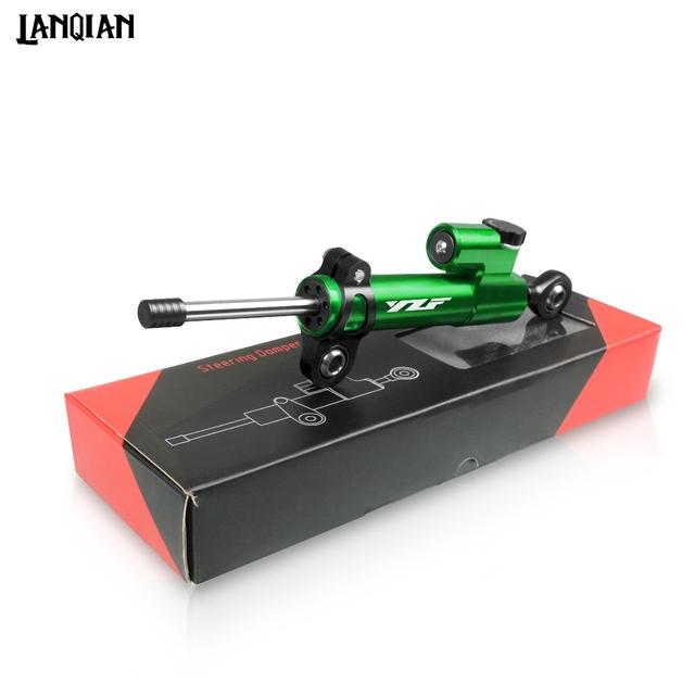 For Yamaha YZF R1 R3 R6 R15 R25 Motorcycle Steering Stabilizer Damper YZF R1 YZF R3 YZF R6 R15 R25 2000-2019 CNC Accessories
