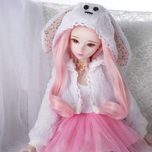 Muñecas articuladas hechas a mano para niñas, juguete articulado de 60cm de longitud, con articulación de bola de princesa, hecho a mano, 1/3
