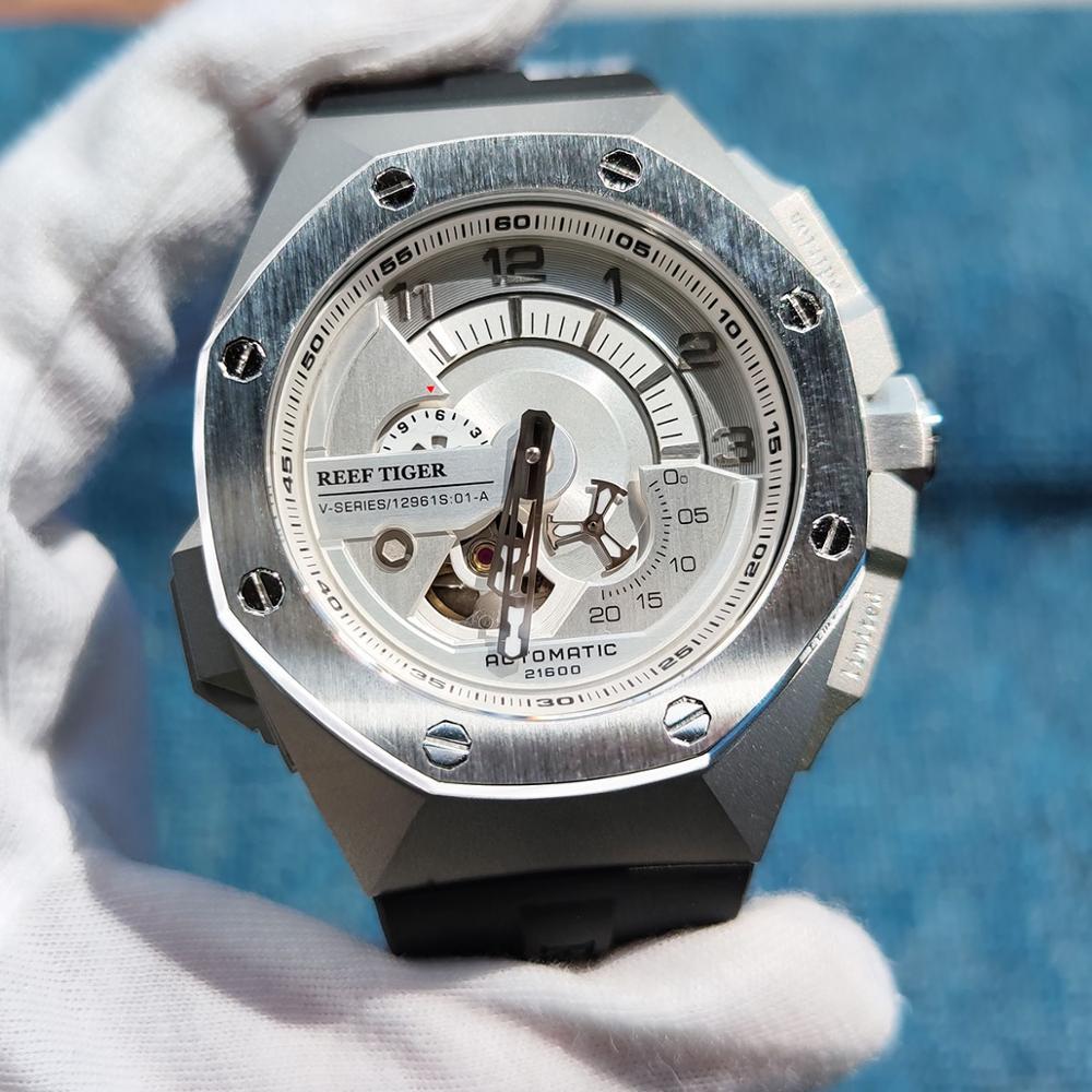 Reef Tiger/RT Top Brand Luxury  Sport Automatic Mechanical Men Watch Waterproof Relogio Masculino RGA92S7 5