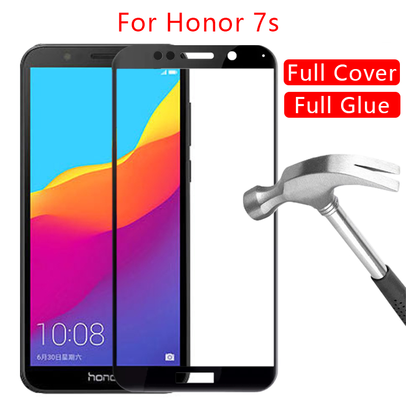 Protective Glass On Honor 7s Screen Protector Tempered Glas For Huawei Honer 7 S S7 5.45 Honor7s Film Huawey Huwei Hawei Huawai