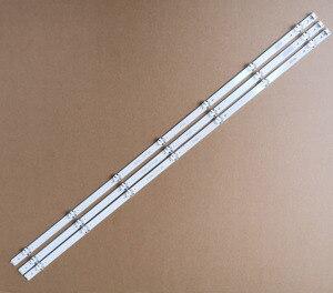 """Image 1 - 3 قطعة 842 مللي متر 7 المصابيح جديد الأصلي LED قطاع الكمال متوافق ل LG 43 """"V16 ART3 V16.5 ART3 6916L2550A 6916L 2743B E71222c102401"""