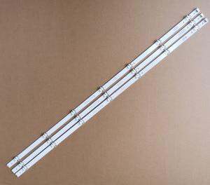 """Image 1 - 3 Chiếc 842 Mm 7 Đèn LED Mới Ban Đầu Dây Đèn LED Tương Thích Hoàn Hảo Cho LG 43 """"V16 ART3 V16.5 ART3 6916L2550A 6916L 2743B E71222c102401"""