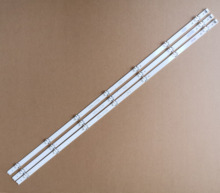 "3PCS 842MM 7 LEDs Neue Original Led streifen Perfekt kompatibel Für LG 43 ""V16 ART3 V 16,5 ART3 6916L2550A 6916L 2743B E71222c102401"