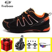 Мужские кроссовки tiebao спортивная обувь для езды на велосипеде