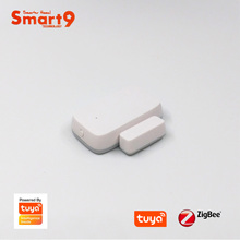 Smart9 ZigBee דלת Windows קשר חיישן, עבודה עם TuYa ZigBee רכזת, חכם חיים App שלט, מופעל על ידי TuYa