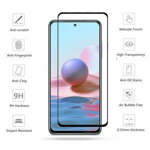 Image 2 - redmi note10 pro case kılıf koruyucu temperli cam kamera 3 in 1 360 kapak kılıf Xiaomi Redmi için Note10 not 10 pro max not 10s