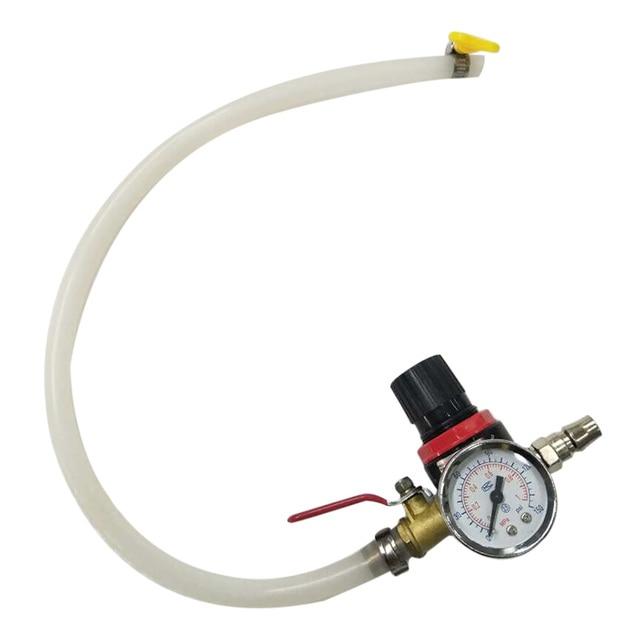 Universal carro de refrigeração do radiador testador pressão tanque água detector verificador ferramenta verificador para a maioria dos carros testador pressão vazamento