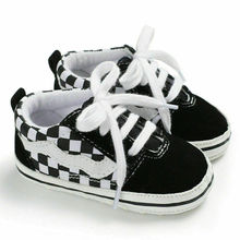 Baby Shoes Sneakers Infant Girl 0-18M Canvas 3E18 Soft-Sole Kids Summer
