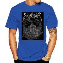 2021 Leisure Fashion 100% Cotton T-shirtEmperor Luciferian Band Logo New Official Mens Black