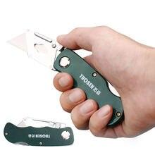 Складной нож из нержавеющей стали для деревообработки кемпинга