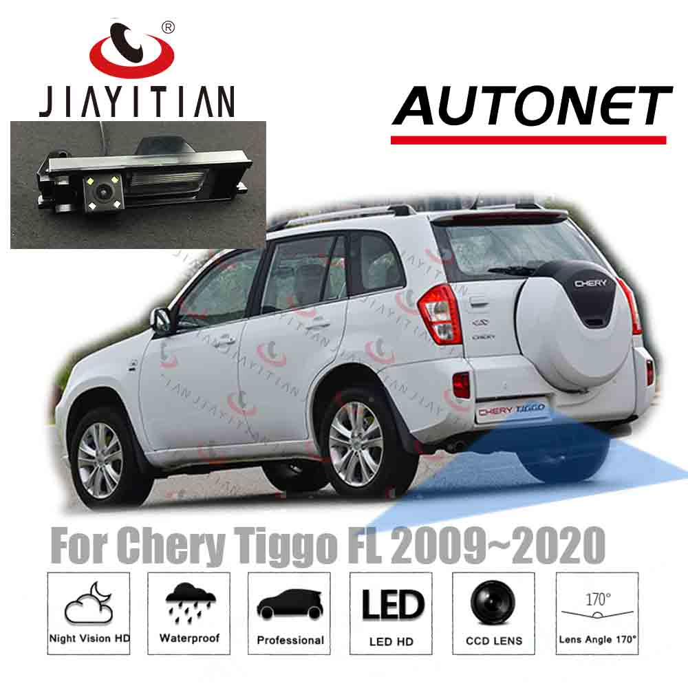 JiaYiTian Camera  For Chery Tiggo 3 Tiggo FL T11 A3 Sedan 2010~2016  CCD Night Vision Parking Camera Backup Reverse Camera