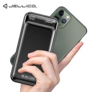 Image 1 - Jellico Power Bank 20000 Mah Usb Type C Pd Snelle Oplader Snel Opladen QC3.0 Powerbank Draagbare Externe Batterij Voor Iphone 11