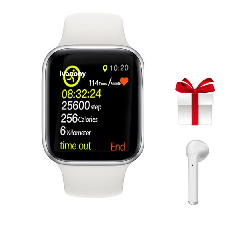 IWO 9 Bluetooth Smart Watch Series 4 1:1 Heart Rate GPS Tracker Sports Smartwatch For Iphone Samsung Fast Ship for Dropshipping