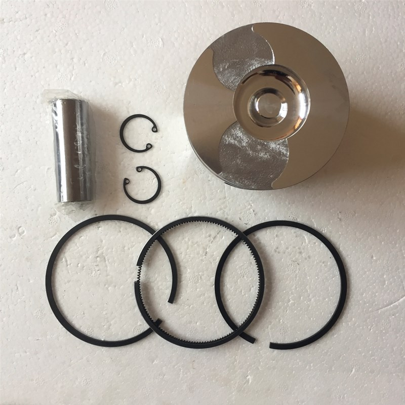 Piston Piston&Rings Kit For 186 186F L100 9HP Air Cooled Diesel Engine,5~5KW Generator