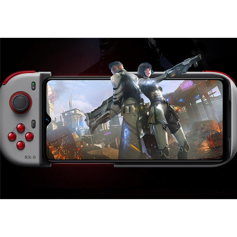 Controlador de juegos portátil para OPPO Reno Ace teléfono Bluetooth Gamepad versión unicornio Joystick 4D Shock y almohadilla de juego balancín 3D - 2