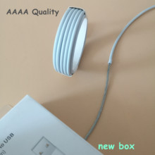 200pcs/lot 2M/6FT AAAA Quality USB Charger Data Sync Charging Cable For iPhone X 8 7 6s plus 5s SE metal braided Cable with box(China)
