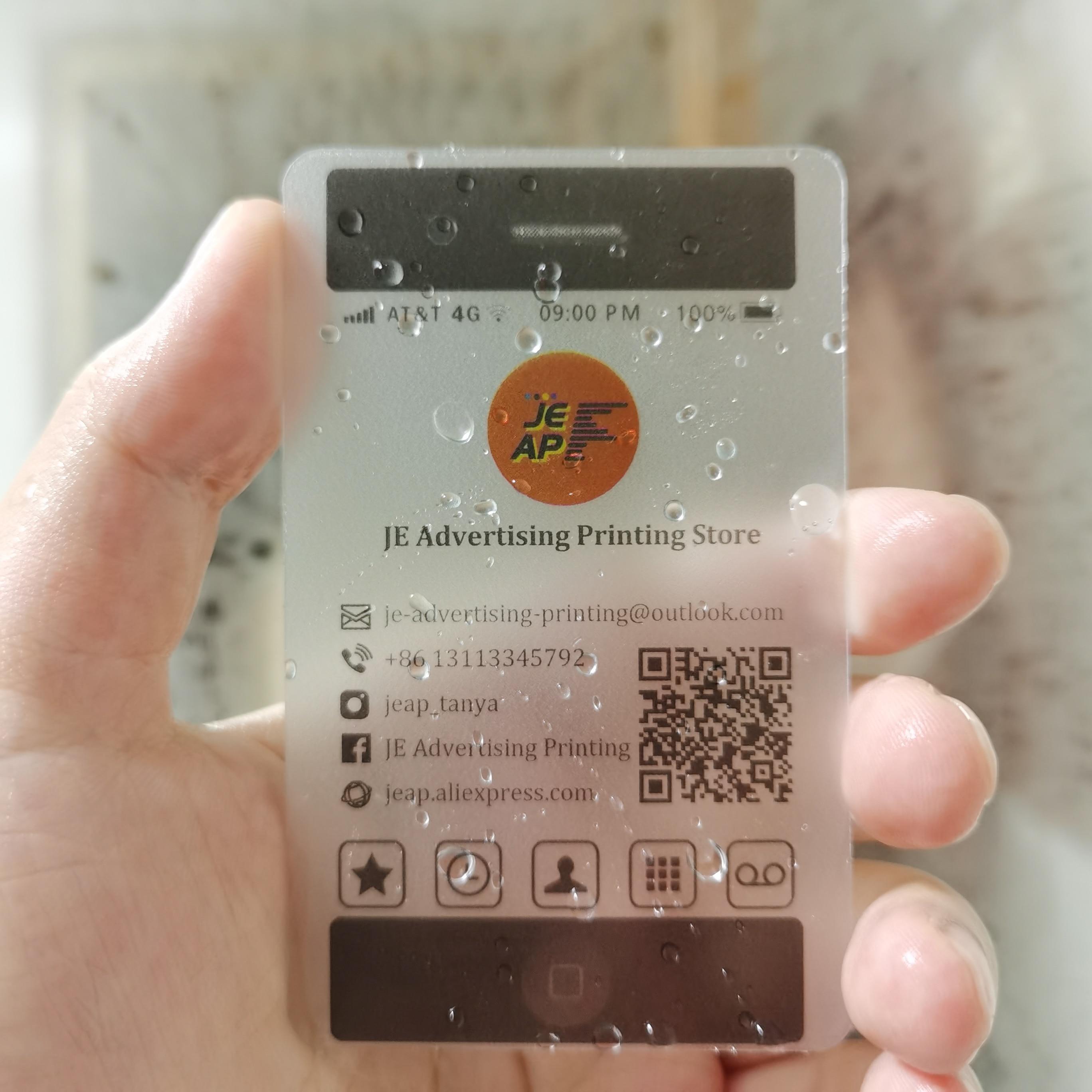 cartao de visita plastico transparente cartoes 05