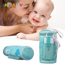 IMBABY USB Электрический нагреватель для бутылок обогреватель изолированный мешок дорожная чашка автомобиль обогреватели напиток теплый Молоко термостат мешок для кормления новорожденных