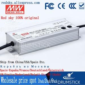 Image 5 - Sabit ortalama kuyu HLG 60H 36A 36V 1.7A meanwell HLG 60H 61.2W tek çıkışlı LED sürücü güç kaynağı A tipi