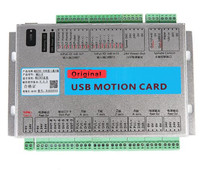 Upgrade CNC Mach3 USB 3/4/6 Axis Motion Control Card Breakout Board 2MHz