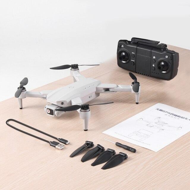 L900pro gps zangão 4k câmera dupla hd profissional fotografia aérea motor sem escova dobrável quadcopter rc distância 1200m 5