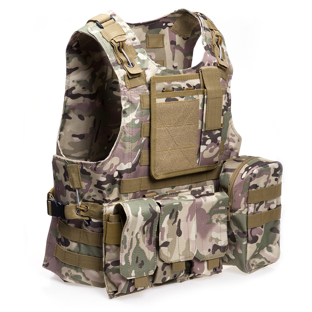 VIM Outdoor Military Tactical Vest Molle Combat Assault Plate Carrier CS Clothing Hunting Nylon D40