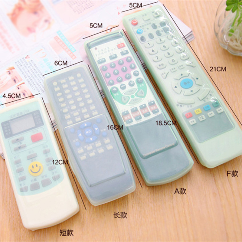 Silicon Gel Anti-dust Protective Cover Case Holder Skin For TV Remote Control