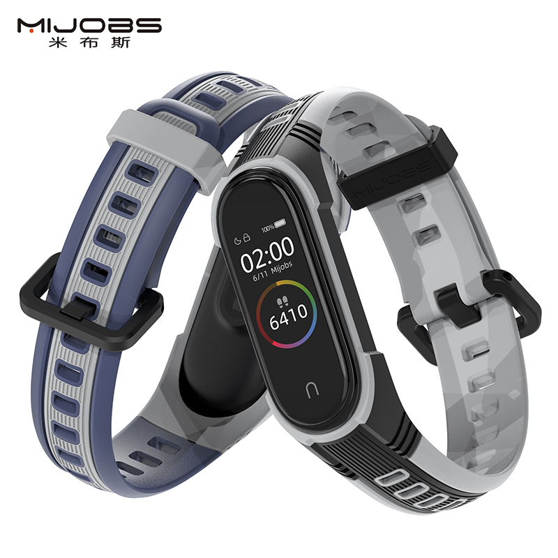 For Mi Band 4 Strap Sport Silicone Watch Wristband For Miband 3 Strap Smart Bracelet For Xiaomi Mi Band 4 3 Band