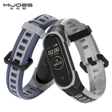 For Mi Band 5 Strap Sport Silicone Watch Wristband For Miband 4 Strap Smart Bracelet For Xiaomi Band 3 Band For Mi Band 5 Strap