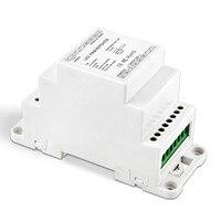 BC-963-DIN dc5v 12v 24v 8a/ch * 3 trilho din repetidor de potência led amplificador 3ch saída amplificador de sinal repetidor de potência