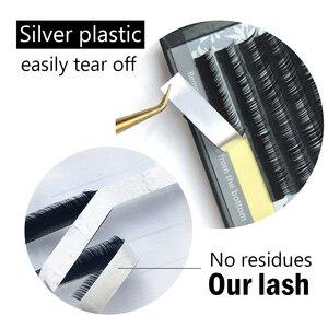 Image 5 - NAGARAKU 10cases wholesale   7~15mm mix 16rows/case naturally artificial mink eyelash extension, hand make, natural long