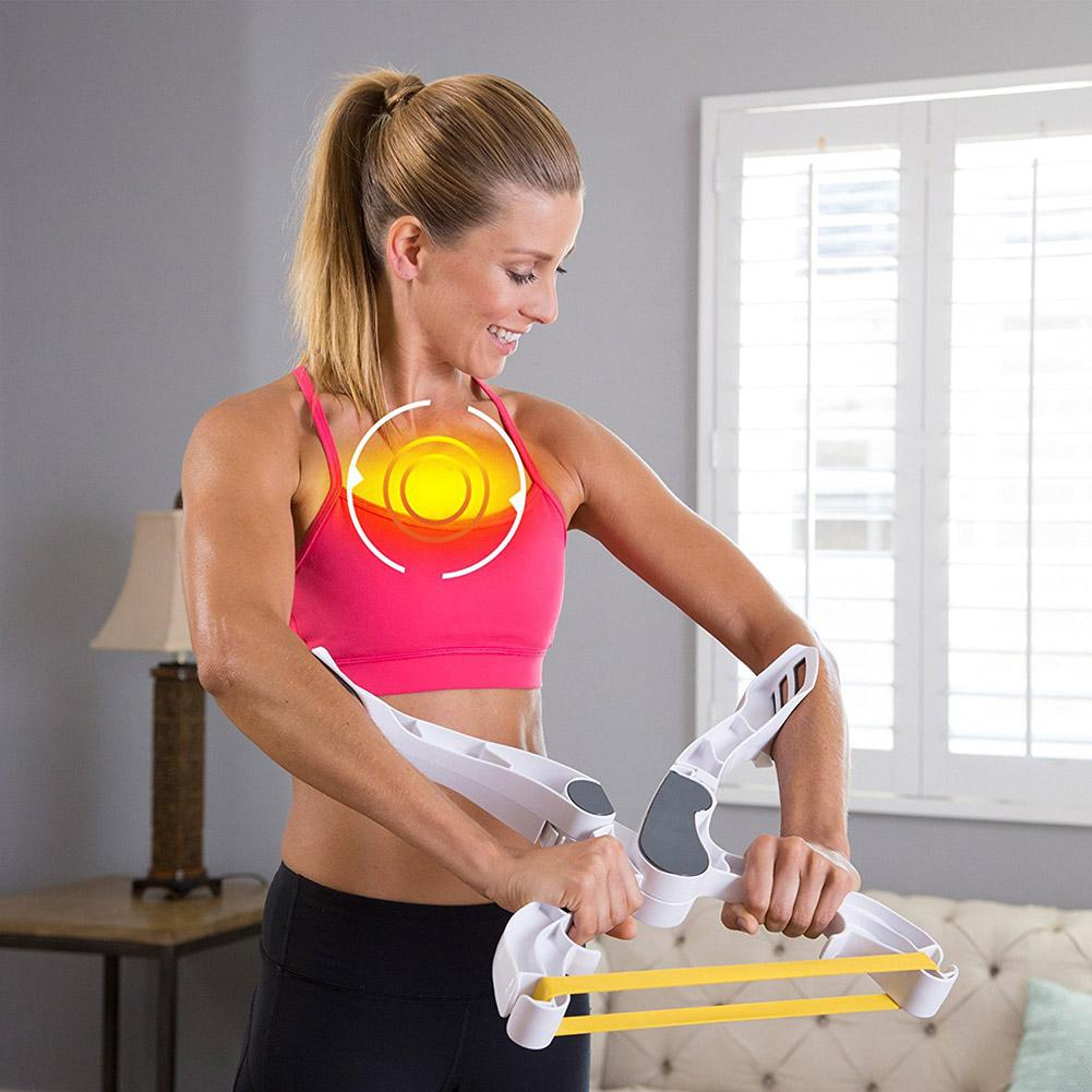 Arm Blaster Wonder Strength Arm Training Device Muscle Trainer Arm Strength Training Device White Hand Gripper Fitness Equipment