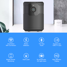hot selling indoor WIFI 1080P voice alarm TF card slot battery power pan-tilt WIFI camera 2.0MP home security camera