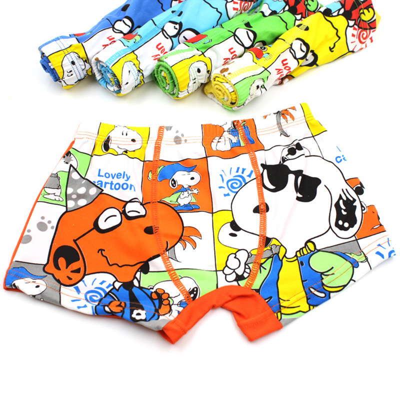 1 Pcs Kids Underwear Kids Boy Underwear For Baby Children's Boxer Underpants Boxers Boys Underware Pants For 3-11 Years