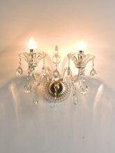 Домашняя кристальная настенная лампа e14 Европейский роскошный